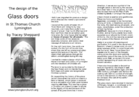 Glass Doors Leaflet